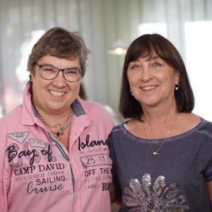Barbara Ebhardt und Elfi Liebl
